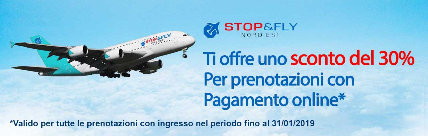 Stop&Fly sconto settembre